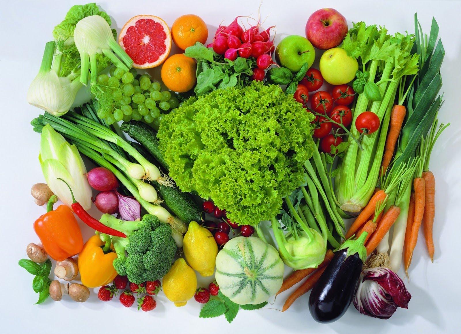 Ăn nhiều rau củ quả giúp giải độc cơ thể