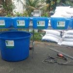 Hệ Rau Xanh Cá Sạch Aquaponics mini 5 Khay Rau