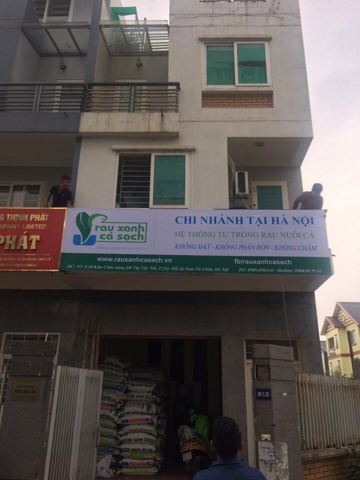 Rau Xanh Cá Sạch Aquaponics Hà Nội