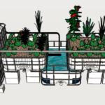 Mô hình trồng rau Aquaponics có 3 phương pháp.